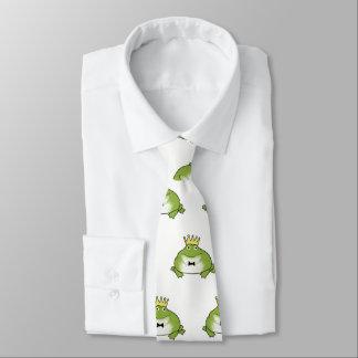 Frosch-Prinz Pattern Personalisierte Krawatten