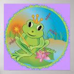 Frosch-Prinz Plakat
