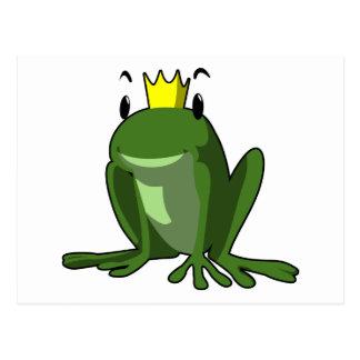 Frosch-Prinz Postkarte