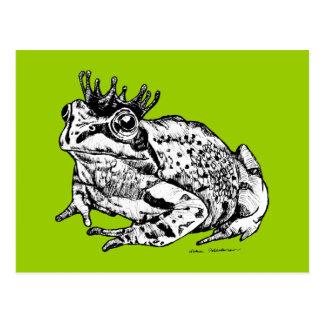 Frosch-Prinz Postkarten