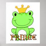 Frosch-Prinz Print Posterdrucke