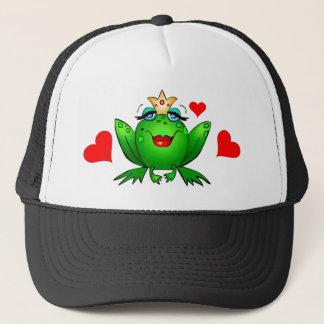 Frosch-Prinzessin Hearts Truckerkappe