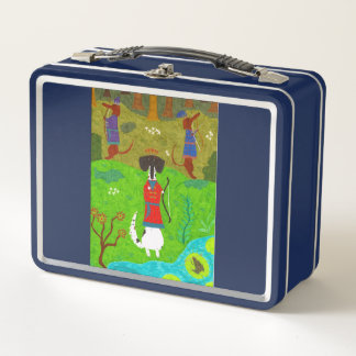 Frosch-Prinzessin Metall Lunch Box