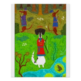 Frosch-Prinzessin Poster