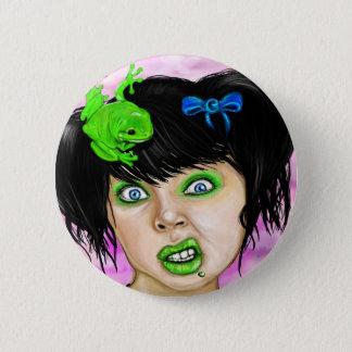 Frosch Runder Button 5,7 Cm
