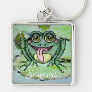 Frosch Schlüsselanhänger