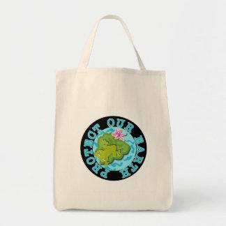 Frosch schützen unsere Erdt-shirts und -geschenke Leinentaschen