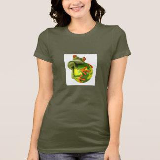 Frosch schützt die Welt! T-Shirt