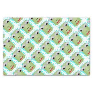 Frosch Seidenpapier