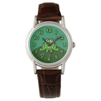 Frosch-Uhr Uhr
