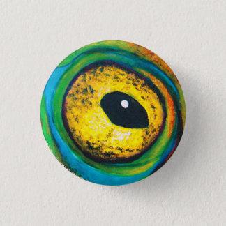 Froschaugen-Malereiknopf Runder Button 2,5 Cm