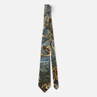 Frösche durch Ernst Haeckel Individuelle Krawatten