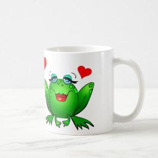 lustiger frosch kaffee tassen lustiger frosch tassen designs. Black Bedroom Furniture Sets. Home Design Ideas