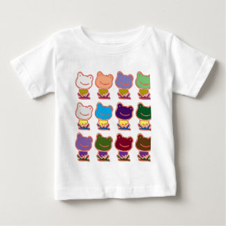 FROSCHfroggy-MUSTER Baby T-shirt