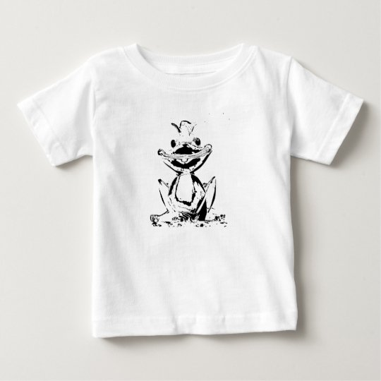 Froschkoenig Baby T-shirt