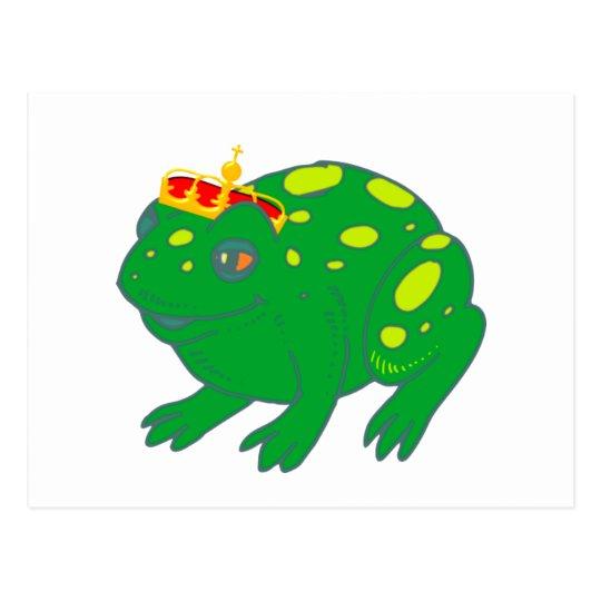 Froschkönig frog king postkarte