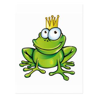 Froschprinz Postkarte