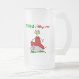 FroschWhisperer Mattglas Bierglas