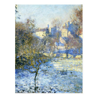 Frost durch Claude Monet Postkarten