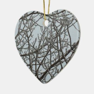 Frost Keramik Herz-Ornament