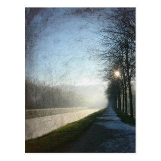 Frost Postkarte