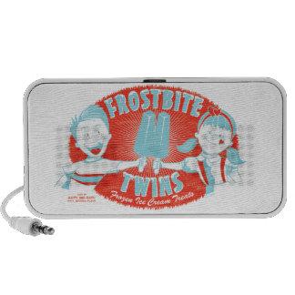 Frostbeule paart Retro Popsicle-Lautsprecher Laptop Lautsprecher