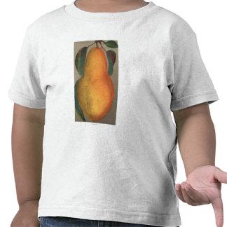 Frucht Chromo Lithographie von Bartlettbirnen-Birn T Shirt