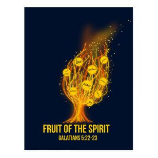 Frucht des Geistes - Galatians 5:22 - 23 Postkarte