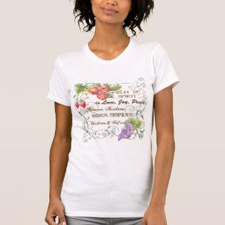Frucht des Geistes ist Liebe, Freude, FriedensT - T-Shirt