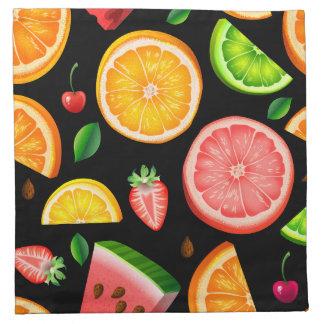 Frucht extravagant stoffserviette