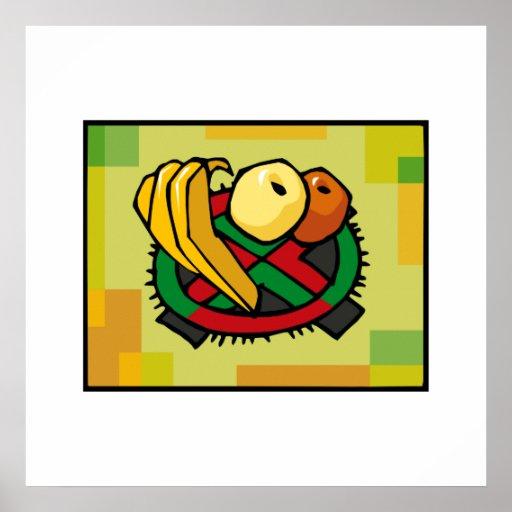 Frucht für Kwanzaa Plakate