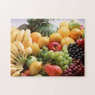 Frucht-Gemisch-Foto-Puzzlespiel Puzzle