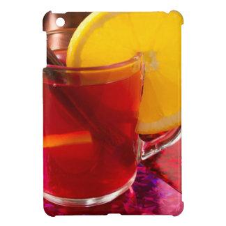 Frucht-Glühwein mit Zimt und Orange iPad Mini Hülle