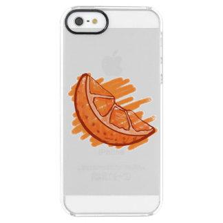 Frucht kopiert die elektronische Blutorange Durchsichtige iPhone SE/5/5s Hülle
