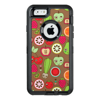 Frucht-Küchen-Muster OtterBox iPhone 6/6s Hülle