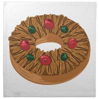 Frucht-Kuchen Serviette