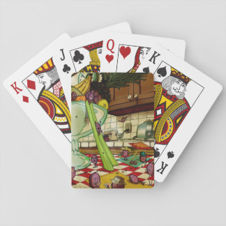Frucht-Picknick Spielkarten