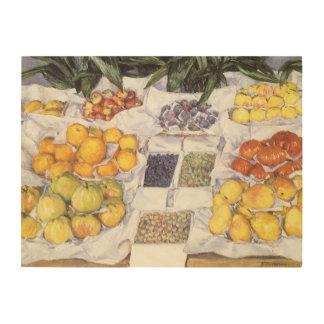Frucht stehen Gustave Caillebotte, Vintage Kunst