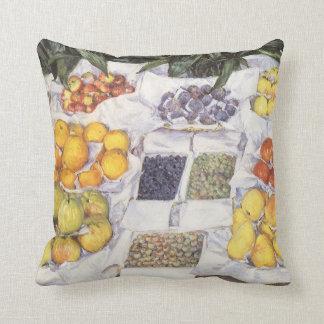 Frucht stehen Gustave Caillebotte, Vintage Kunst Kissen