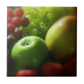 Frucht-Stillleben Keramikfliese