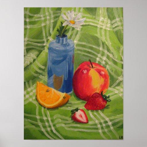 Frucht-Stillleben Posterdrucke