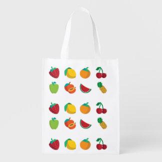 Frucht-tastic wiederverwendbare Einkaufstüte Tragetaschen