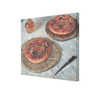 Frucht-Törtchen Claude Monets |, 1882 Leinwanddruck