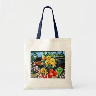 Frucht u. Blumen Budget Stoffbeutel