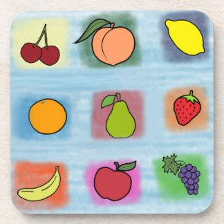 Frucht-Überraschung Untersetzer