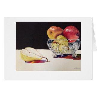 Frucht und Kristallkarte durch Mary Dunham Walters Karte