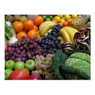 Frucht-und Nahrungsmittelpostkarte 26 Postkarte
