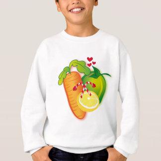 Frucht-und Veggies-Felsen! Sweatshirt