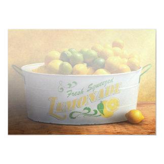 Frucht - Zitronen - wenn das Leben Ihnen Zitronen Karte
