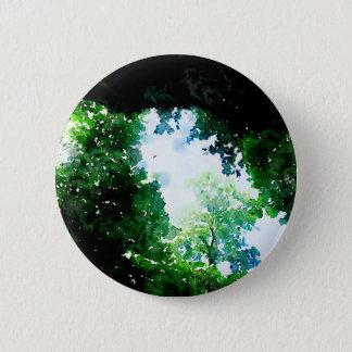 Fruchtbarer Laub-Knopf Runder Button 5,1 Cm